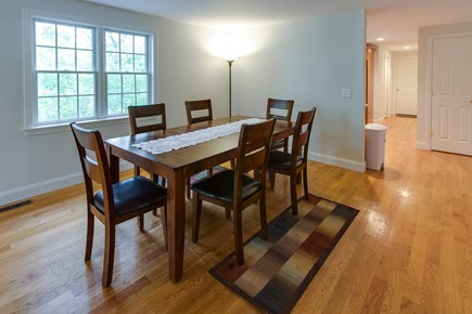 Harwich Cape Cod vacation rental - A contemporary table with seating for six