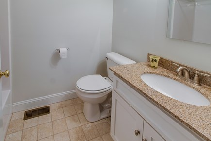 Harwich Cape Cod vacation rental - A full bathroom with all of the necessary amenities