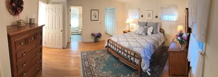 Osterville Osterville vacation rental - Master Bedroom- double closets, private full bathroom & TV.
