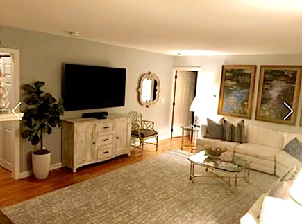 Osterville Osterville vacation rental - Living Room- large sectional couch that can comfortably seat 10.
