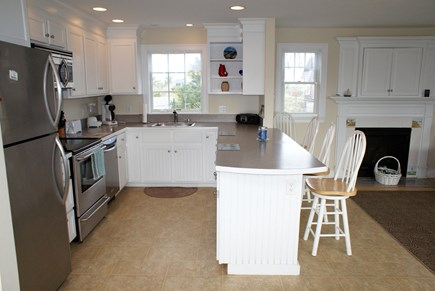 Sandwich Cape Cod vacation rental - Bartop dining in Kitchen