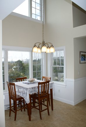 Sandwich Cape Cod vacation rental - Dramatic Dining nook