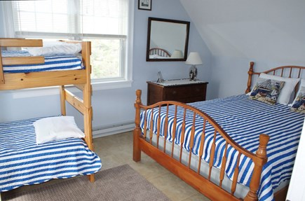 Sandwich Cape Cod vacation rental - Bedroom with Queen and Twin Bunk
