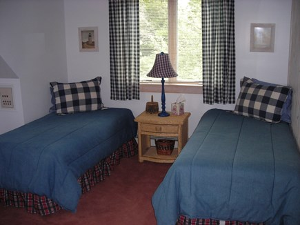 West Falmouth Cape Cod vacation rental - Back bedroom - 4 twins