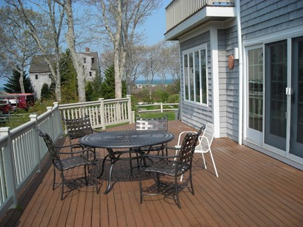 West Falmouth Cape Cod vacation rental - View toward beach