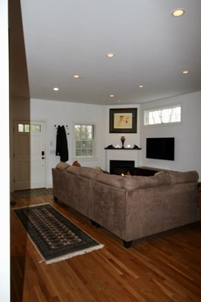 Provincetown Cape Cod vacation rental - Living Room from Kitchen
