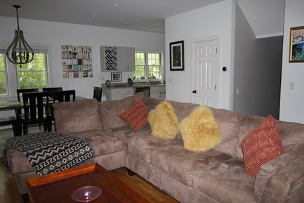 Provincetown Cape Cod vacation rental - Sink into this couch and relax!