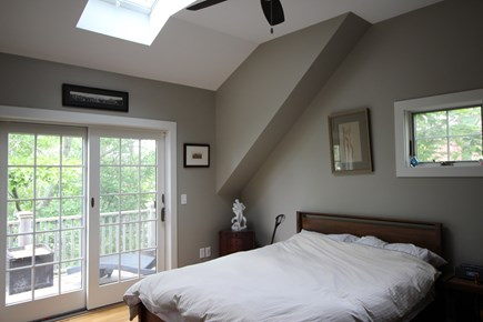 Provincetown Cape Cod vacation rental - Bedroom opens to the Upper Deck