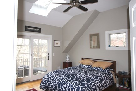 Provincetown Cape Cod vacation rental - Main Bedroom opens to Deck