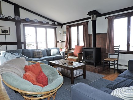 Woods Hole Woods Hole vacation rental - Open living room with water views