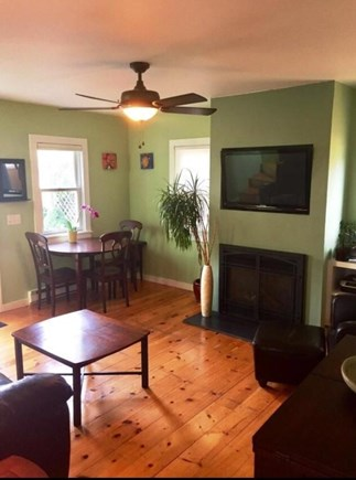 Provincetown Cape Cod vacation rental - Living Room/ Dinning Area