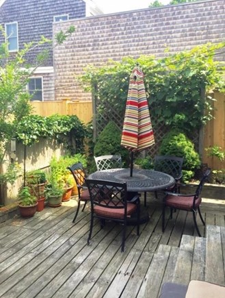 Provincetown Cape Cod vacation rental - Outside Patio Area, with Bar B Que Grill