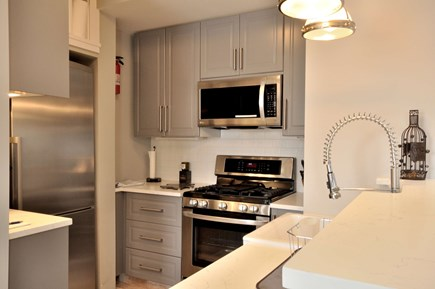 Provincetown Cape Cod vacation rental - Stainless steel appliances in this lovely kitchen