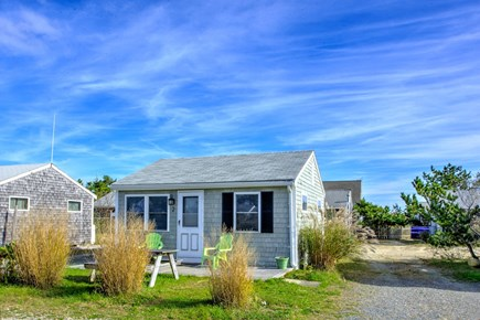 East Sandwich Cape Cod vacation rental - Front view of the cottage.