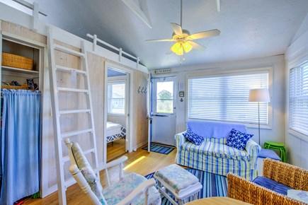 East Sandwich Cape Cod vacation rental - Ladder to sleeping Loft.