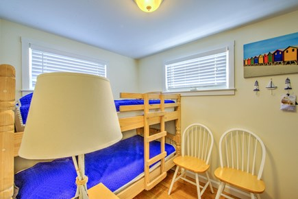 East Sandwich Cape Cod vacation rental - Bedroom with Twin bunkbed.