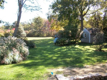 Dennis Cape Cod vacation rental - Huge private yard perfect for games