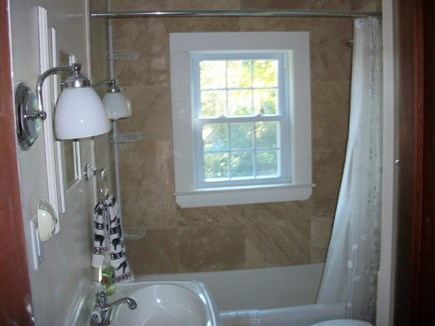 Dennis Cape Cod vacation rental - Full bath with tub and shower