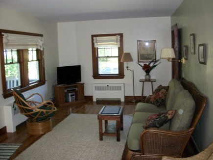 Dennis Cape Cod vacation rental - Nice big living room with cable TV