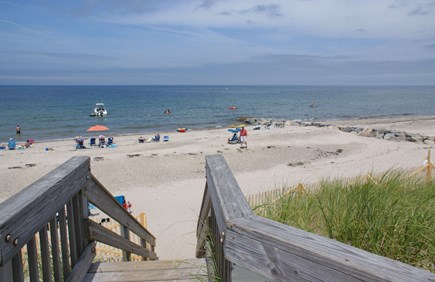 East Sandwich Cape Cod vacation rental - Private Association beach on Cape Cod Bay