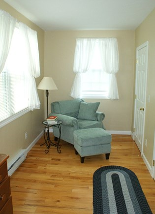 East Sandwich Cape Cod vacation rental - Master Bedroom sitting area.