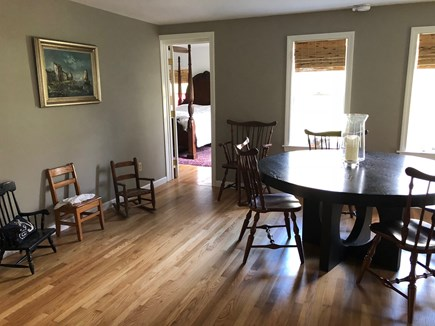 Eastham Cape Cod vacation rental - Dining room off living room & master bed room