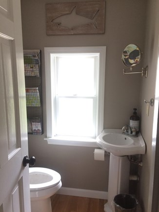 Eastham Cape Cod vacation rental - Half bath off kitchen