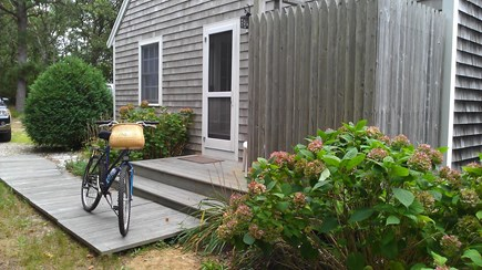 Eastham Cape Cod vacation rental - Side entrance and outdoor shower