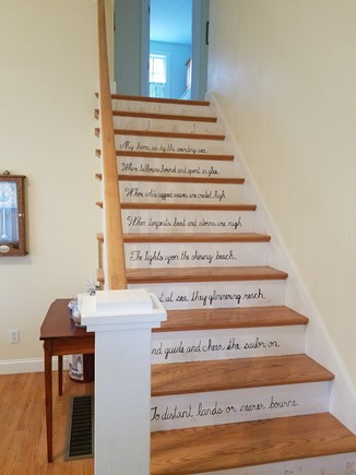 Eastham Cape Cod vacation rental - Front entrance stairs