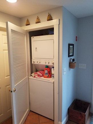 Eastham Cape Cod vacation rental - First floor washer and dryer