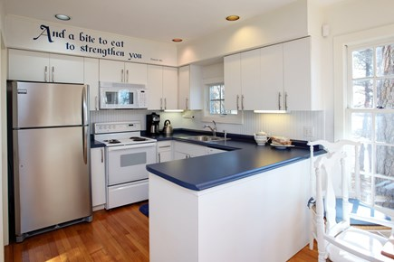 Mashpee Cape Cod vacation rental - Kitchen is open to the dining room