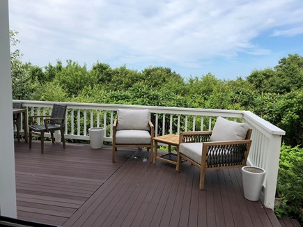 West Barnstable Cape Cod vacation rental - First floor deck!