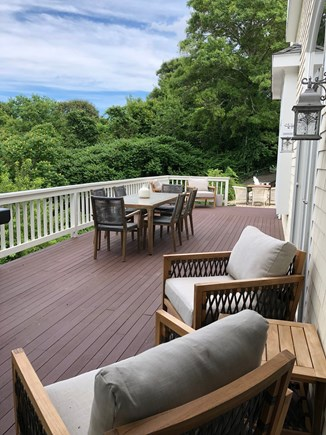 West Barnstable Cape Cod vacation rental - Spacious Deck, plenty of seating and gas grill.