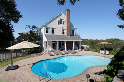 West Barnstable Cape Cod vacation rental - Pool View, Patio and Farmers Porch! Relax and Enjoy the outdoors!