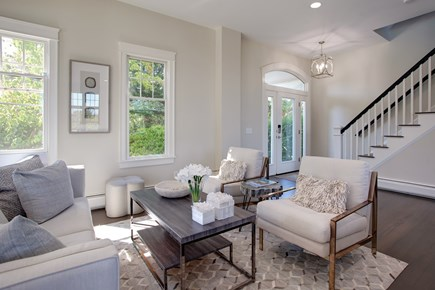 West Barnstable Cape Cod vacation rental - Lovely sitting area in the main living area.