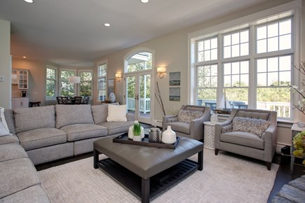 West Barnstable Cape Cod vacation rental - Fantastic Living Room with lots of light!