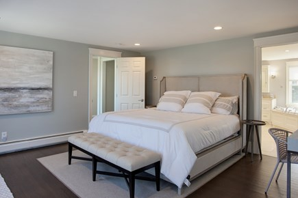 West Barnstable Cape Cod vacation rental - Master Suite with grande master bath and private deck.