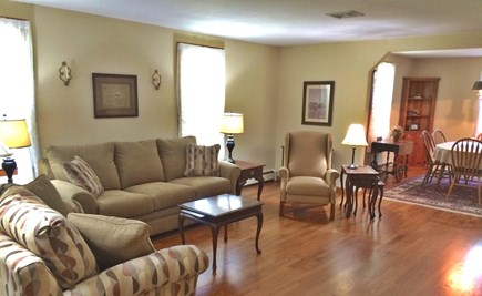 Orleans on Baker's Pond Cape Cod vacation rental - New furniture that includes a comfy L-Z-Boy Queen size sofa bed.