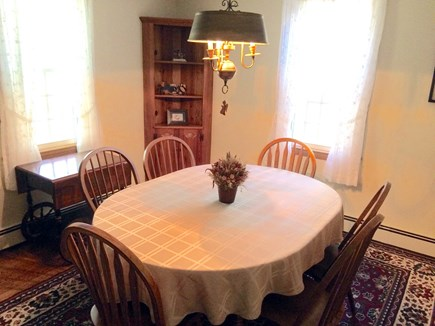 Orleans on Baker's Pond Cape Cod vacation rental - Dining room will easily seat 6 people.