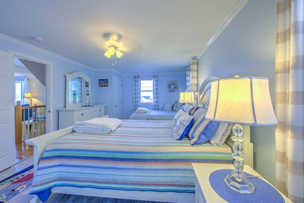 Sandwich Cape Cod vacation rental - Bedroom on 2nd FLR with King & Double