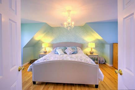 Sandwich Cape Cod vacation rental - Master Bedroom on 3rd level with King