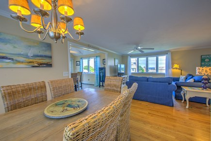 Sandwich Cape Cod vacation rental - Open Dining/Living area