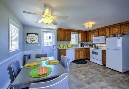 Sandwich, Sagamore Beach Cape Cod vacation rental - Dining area off Kitchen