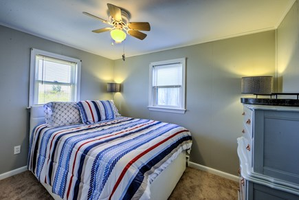 Sandwich, Sagamore Beach Cape Cod vacation rental - Bedroom 1with Trundle ( Double & Twin) & window AC