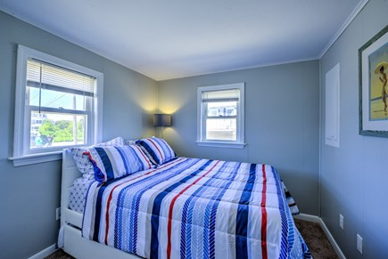 Sandwich, Sagamore Beach Cape Cod vacation rental - Bedroom 2 with Trundle (Double & Twin)
