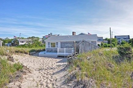 Sandwich, Sagamore Beach Cape Cod vacation rental - View of cottage from the dunes.