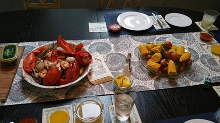 Mashpee Cape Cod vacation rental - Time for lunch