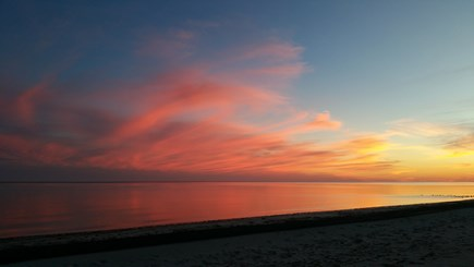 Mashpee Cape Cod vacation rental - Cape sunset at South Beach