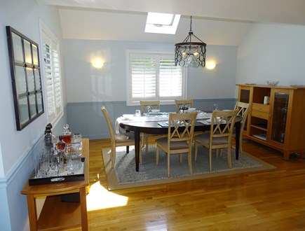 Mashpee Cape Cod vacation rental - Lovely dining area, opens to living room