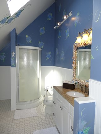 Mashpee Cape Cod vacation rental - The Hydrangea bathroom - upstairs